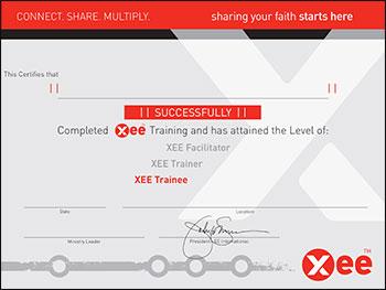 xee-trainee certificate