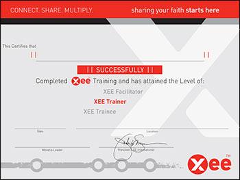 xee-trainer certificate